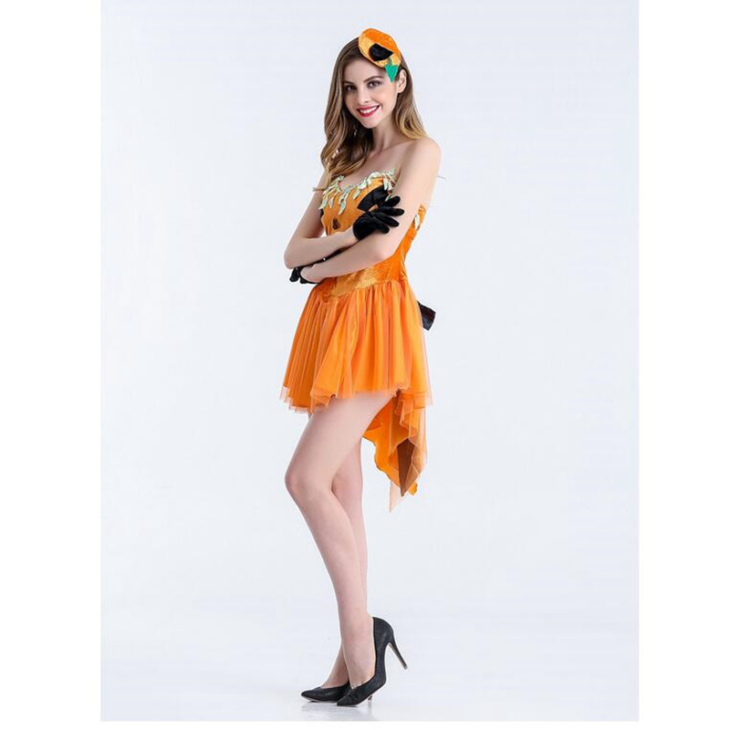 95a615f60d Cute Elven Mage Cosplay For Woman Halloween Elven Mage Pumpkin Costumes  Cosplay Different Size And Orange Jumpsuit For Choose-in Sexy Costumes from  Novelty ...