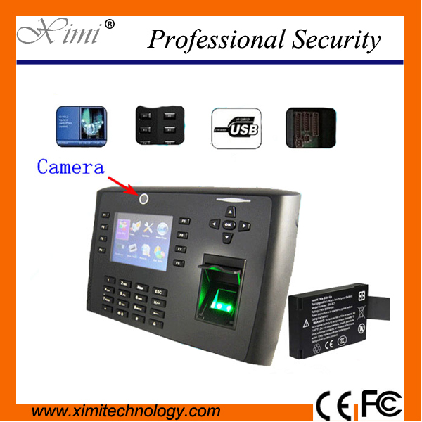 Gprs Iclock700 Fingerprint Access Control Reader 3.5 Inches Tft Screen With Camera Fingerprint Time Attendance gprs real time fingerprint access guard tour system