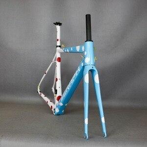 Image 3 - セラフバイクカーボン道路フレーム、カーボンファイバー自転車フレーム、 T1000 自転車カーボンフレーム FM686 製タンタン工場