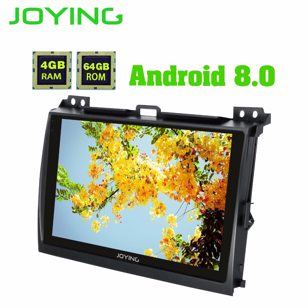 JOYING 2 Din CAR RADIO 9 inch Android 8 0 GPS Navi auido Player Carplay for