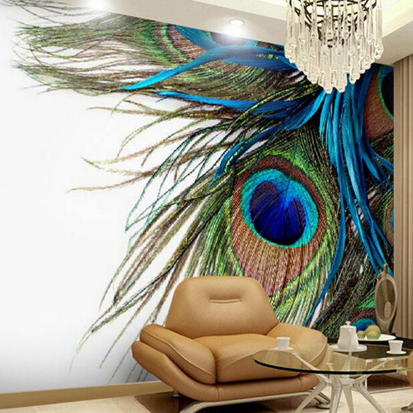 Customized Size 3d Large Mural Bedroom Tv Background Wallpaper Blue