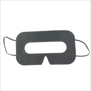 Image 4 - Linhuipad Universal 100 pack Hygiene VR Mask Pad Black Disposable Eye mask for Vive Oculus Rift 3D Virtual Reality Glasses