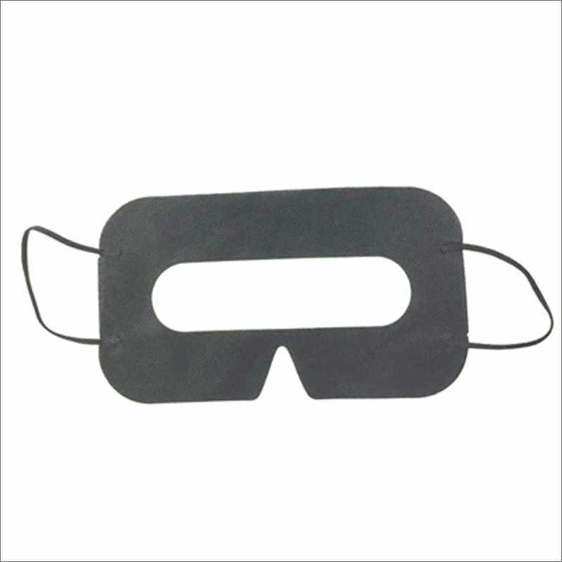 Linhuipad Universal 100 paquete de higiene protectora máscara VR Pad negro desechable Eyemask para gafas de realidad Virtual 3D