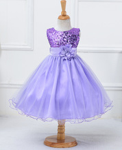Flower girl dresses new year birthday christmas long belt sequin teen baby toddler age size 3t 6 7 8 9 10 11 12 13 14 15 years