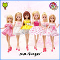Mr.Froger Fashion Girl Doll star product lifestyle Action Models Dolls cute DIY toy Classic fantasy Children figure Princess