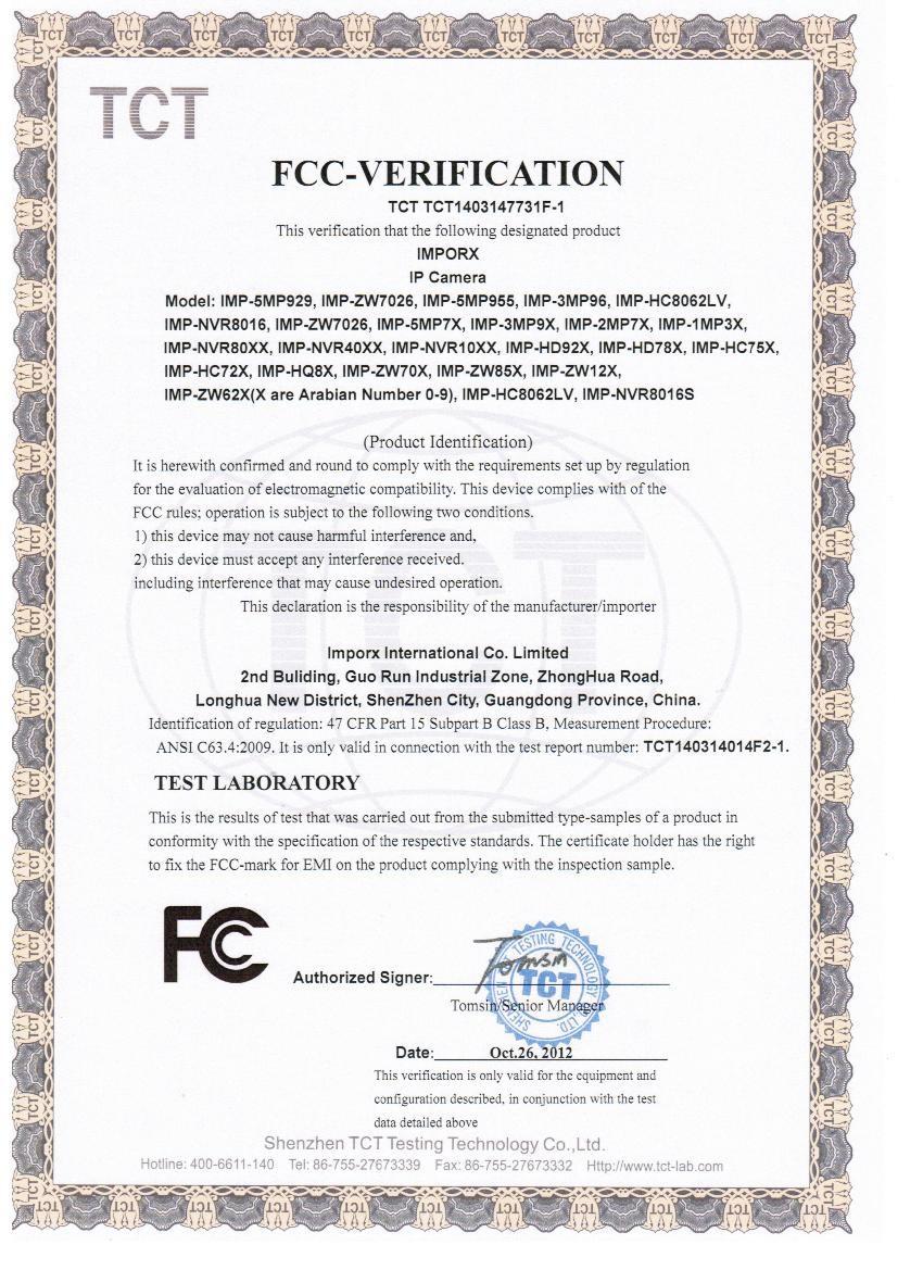 imporx-FCC