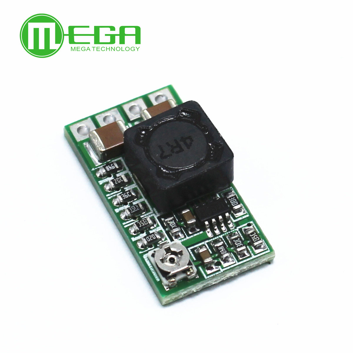Image 3 - 50pcs Mini DC DC 12 24V To 5V 3A Step Down Power Supply Module Buck Converter Adjustable Efficiency 97.5%-in Integrated Circuits from Electronic Components & Supplies