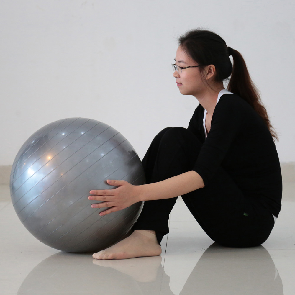 Bola Fitness Yoga Pilates Exercise Gym Ball Free Pompa Size65cm Bonus Angin Fitball Note Please Allow 5cm Difference In Sizes Due To Manual Measurement