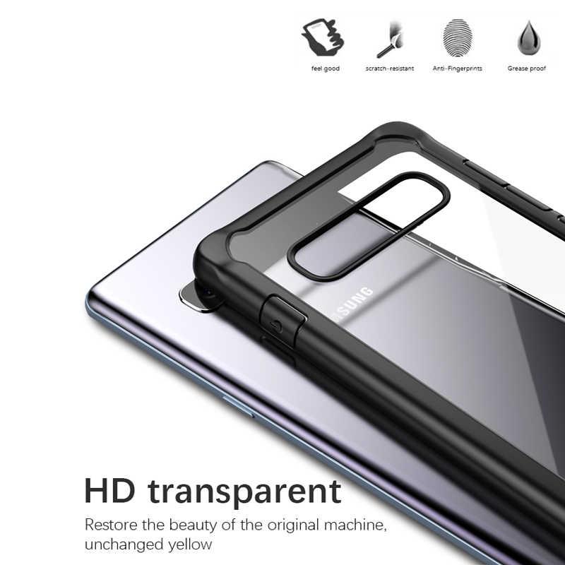لسامسونج S10 Plus حافظة iPaky S10e سيليكون أكريليك الهجين للصدمات شفاف حقيبة لهاتف سامسونج جالاكسي S10