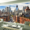 Beibehang Customize Any Fresco Wallpaper Pretty Modern Street View Times Square TV Background Wall Photo Wallpaper