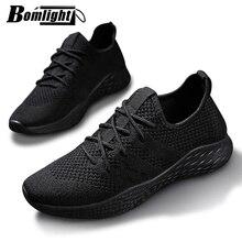 Mannen Sneakers Mannen Casual Schoenen Merk Mannen Schoenen Mannelijke Mesh Flats Plus Big Size Loafers Ademend Slip Op Lente Herfst trainers 48