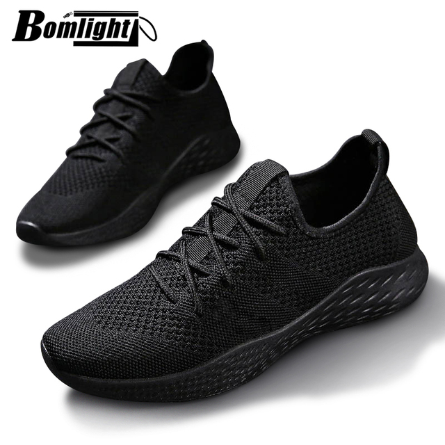 Men Sneakers Men Casual Shoes Brand Men Shoes Male Mesh Flats Plus Big Size Loafers Breathable Slip On Spring Autumn Trainers 48