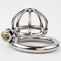 Short and Solitary Extreme Confinement Chastity Cage Super Small Size Male Chastity Device