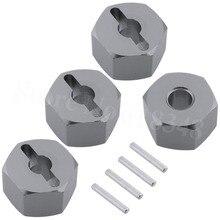 4Pcs RC Aluminum 14mm Wheel Hex Drive Hub Adapter Mount For HPI BULLET 3.0 ST MT Remote Control Car Replacement Parts