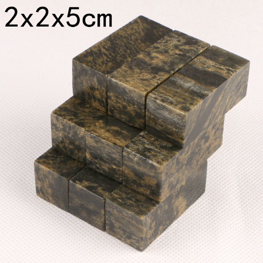 5 pieces Chinese Stamp Seal stones Blank Art Signet for practice painting calligraphy Art supplies chinese customized photosensitive square name stamp for signet logo picture seal signature stamp art supplies
