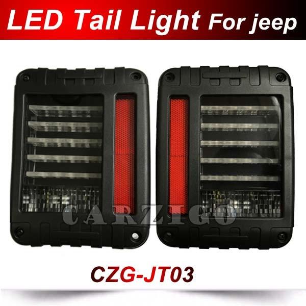 СЗГ-JT03 светодиодный задний фонарь стоп-сигнал Обратный свет сигнал свет авто Тали света для джип Wrangler с Европейский Стандарт вилки