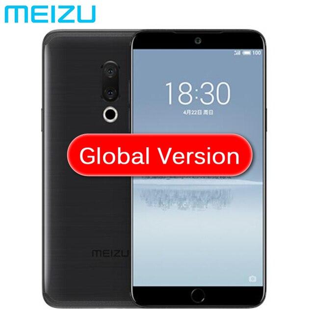 """Meizu 15 глобальная версия 4 Гб оперативная память 64 Встроенная Snapdragon 660 Octa Core мобильный телефон 1080 """"1920x5,46 P экран 20MP двойной камера"""