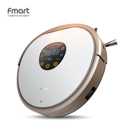 Fmart YZ-V2 Robot Vacuum Cleaner For Home Cleaning Appliances Intelligent Self-Charge Side Brushs Warehouse Aspirator
