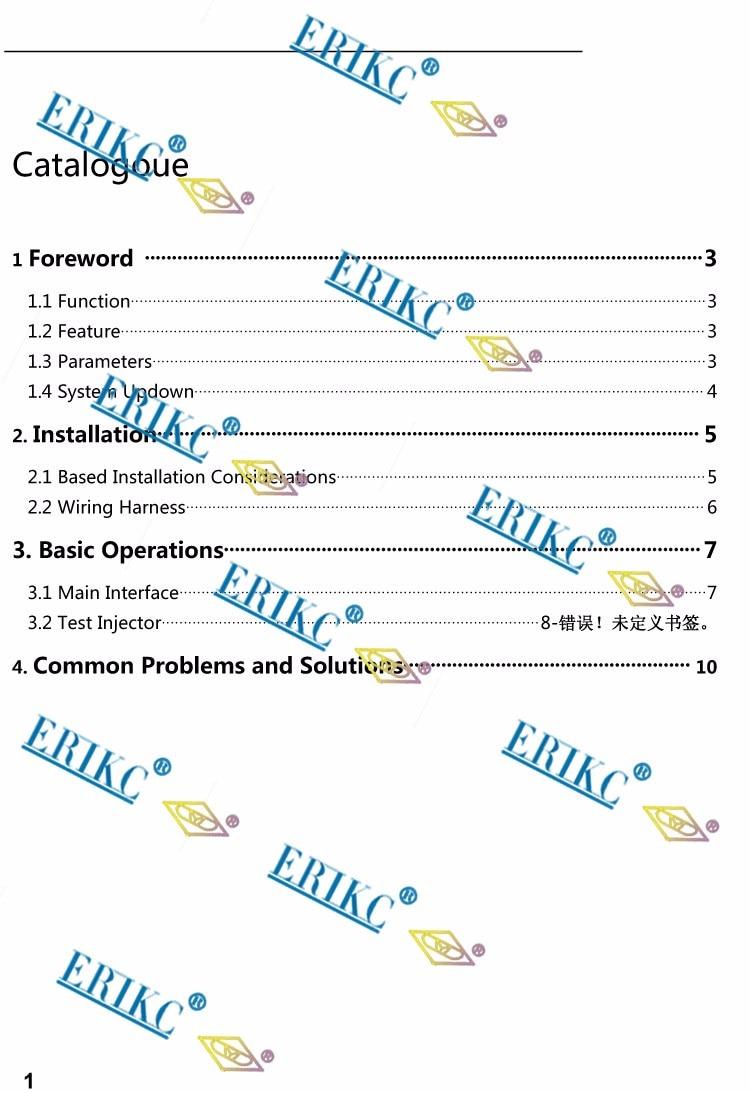 HOT SALE] ERIKC Lsl100 Common Rail Test Bench E1024012
