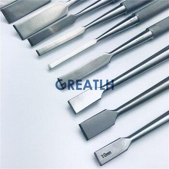 Ostéotomes osseux de haute qualité, instruments orthopédiques vétérinaires à couteau osséeux