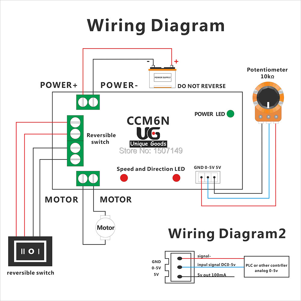 WRG-0325] Dc Motor Reversing Switch Wiring Diagram on