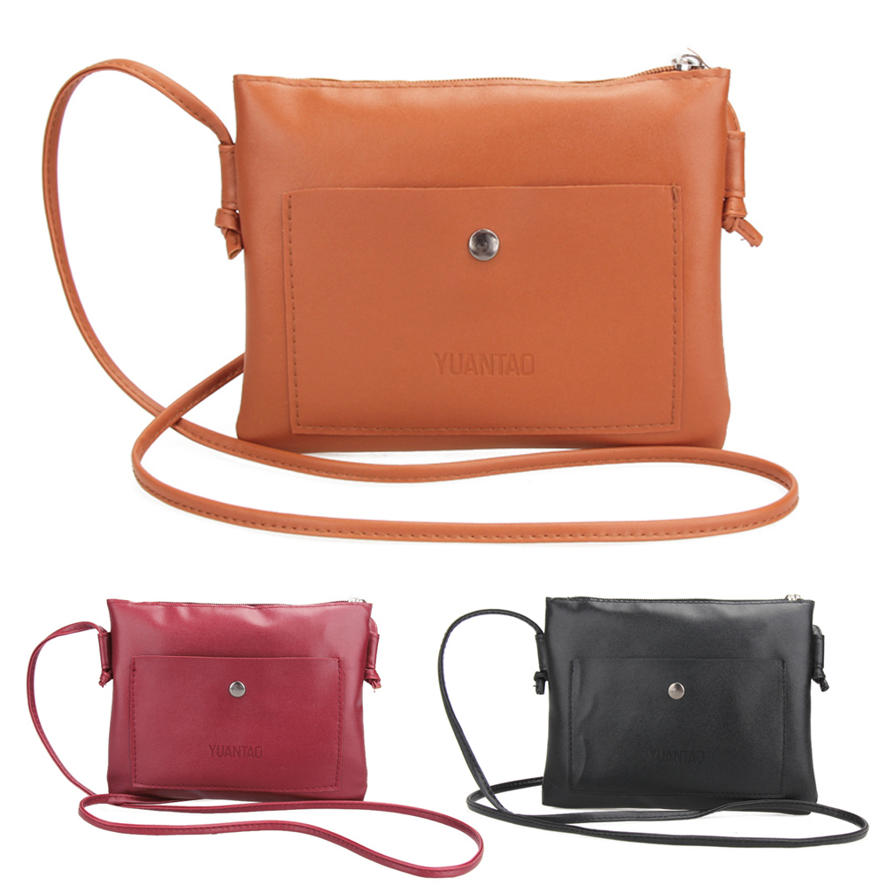 2017 Small Women Messenger Bags Leather Women Famous Brand Lightweight Single Straps Crossbody Bags for Women Shoulder Bag bolsa