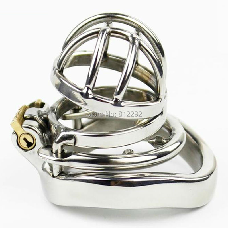 Latest Design Male Chastity Device Stainless Steel Adult Cock Cage Super Small Fetish Sex Toys Bondage Belt stainless steel simple silicoliner male chastity belt fetish bdsm bondage cock cage erotic toys sex games adult sex toys for men