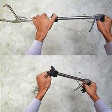 Professional Snake Clip Lock Folding Plier ,Self-locking Capture Snakes Tools Machine Aquatic Pet Supplies