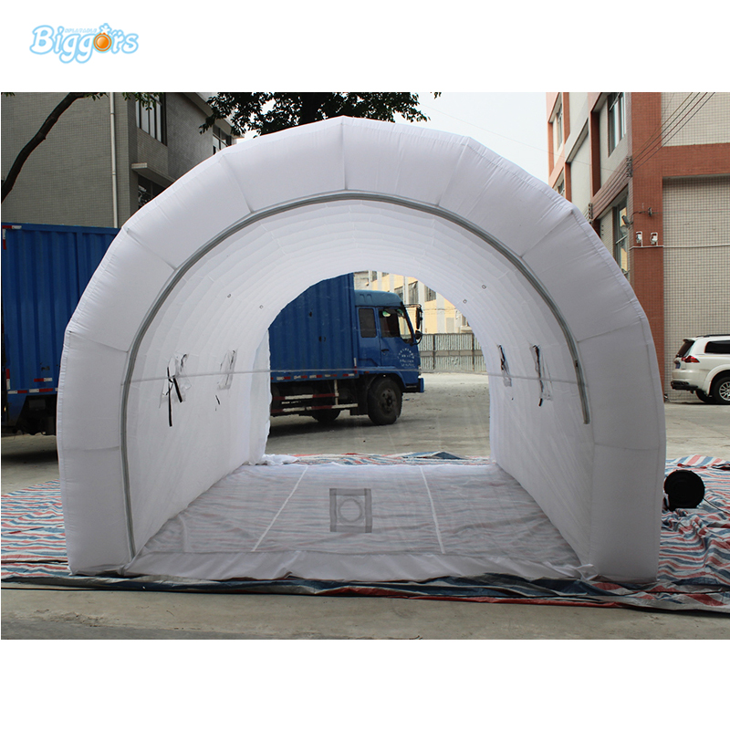 Factory Direct Price tent Inflatable Garage Tent Inflatable For Event Tent factory direct sale 6x6x3 5 m inflatable dome igloo tent for outdoor event high quality blow up all white yurt tent toy tent