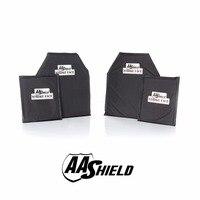 AA щит пуленепробиваемые мягкие Панель Средства ухода за кожей Панцири Подставки плиты арамидных core самообороны питания nij LVL IIIA 3A 10X12 #2 (2) 6x8 (2