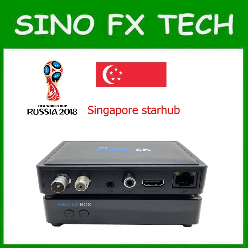 V9 Super starhub boîte aucune main Singapour best starhub tv box mise à jour de freesat v9 pro