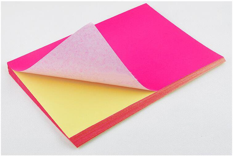 Image 3 - Network Fluorescence Labels Sticker 50 Sheets  A4 Size Matte Self Adhesive Label Sticker Printer Paper for Laser inkjet printing-in Stationery Stickers from Office & School Supplies