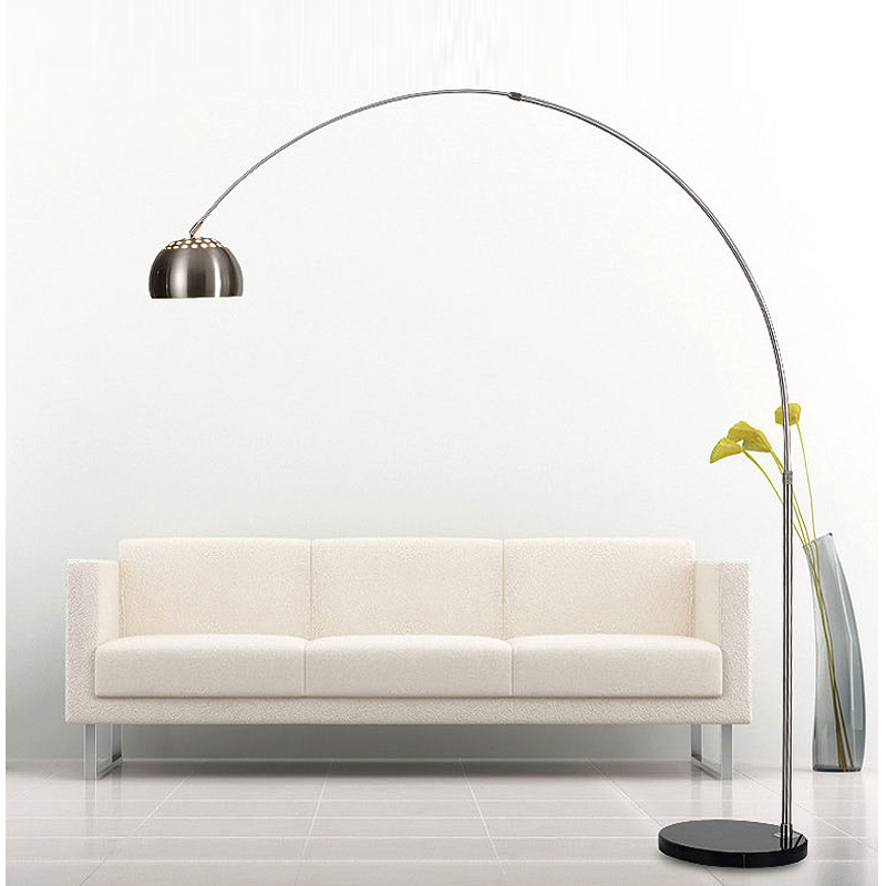 Modern Fishing Floor Lamp Bedroom Hotel