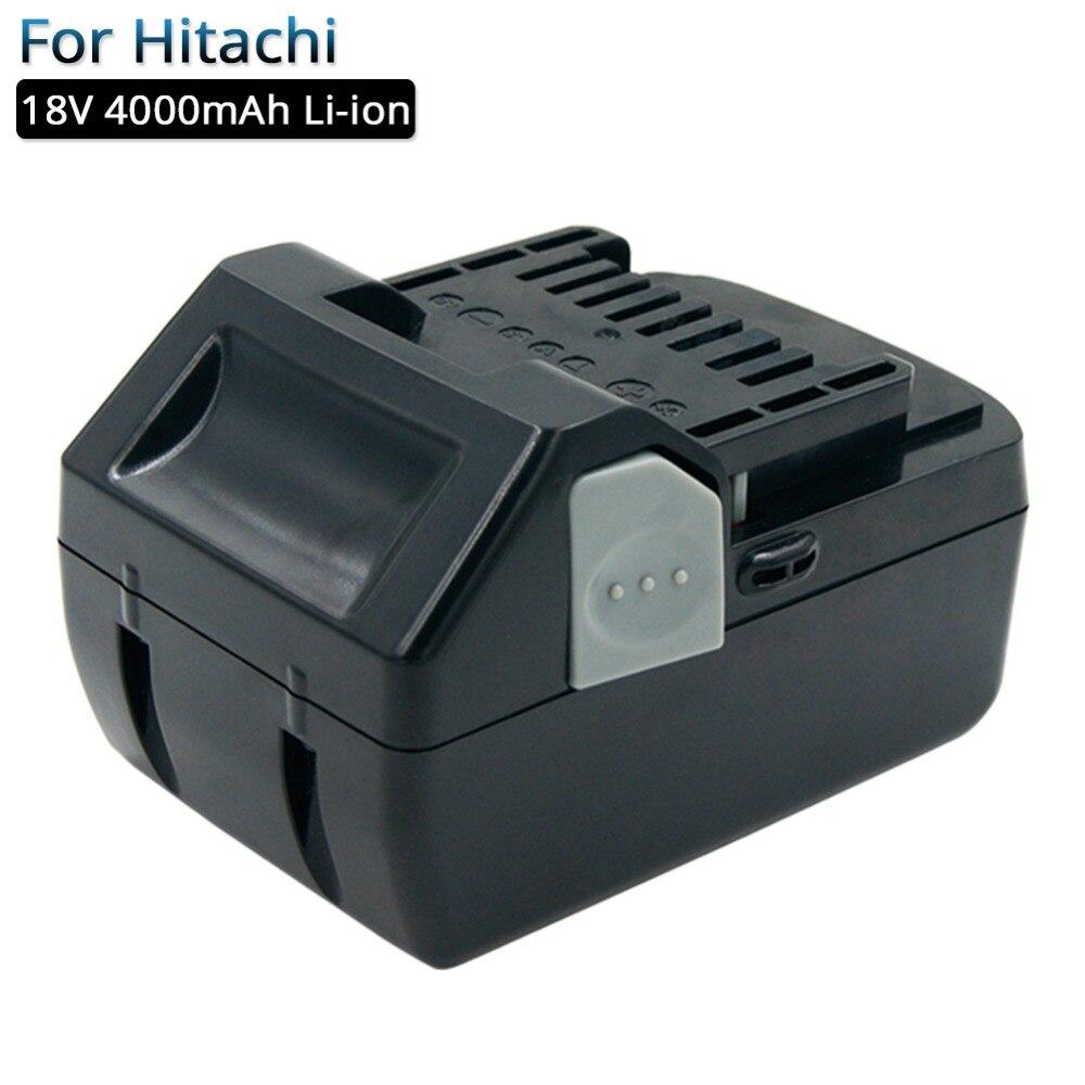 Batterie Rechargeable 18 V 4.0A Li-ion outils électriques batteries de remplacement pour Hitachi 18 V DS18DSL BSL1830 BSL1815 BSL1840 batterie