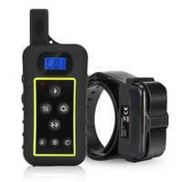 Dog Electric shock Collar 100% Waterproof Rechargeable Dog Training Collars with Remote 2000meters for hunting