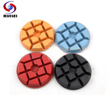 3FP2-3 Wholesale  3 50# -3000# renovate floor Polishing Pads,Lotus-shaped diamond polishing pads 4Pcs/Lot