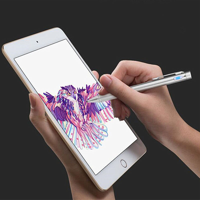 Active Pen Capacitive Touch Screen For Apple iPad mini 4 3 2 1 mini4 ipad mini3 mini2 Pen Stylus Tablet High-precision NIB 1.4mm цена и фото