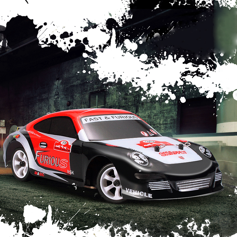 1:28  Remote Control Car High Speed 30KM/H RC Auto Model 2.4G HZ Land Drift Electronic Toys Auto 4WD Rally Car wltoys k969 1 28 2 4g 4wd electric rc car 30kmh rtr version high speed drift car