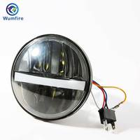 5.75 inch Motorcycle Projector LED Headlight for HONDA VTX 1300 1800 Harley Motorcycles 5 3/4 Led Headlights