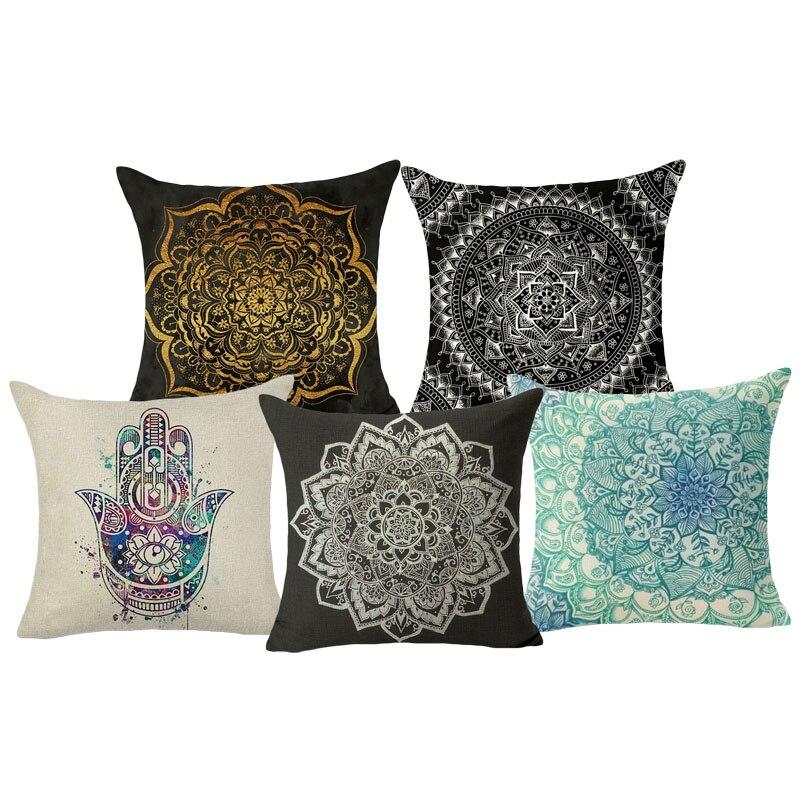 Mandala Cushion Covers