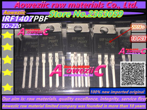 Image 1 - Aoweziic 2016+ 100% new imported original   IRF1407 IRF1407PBF TO220 FET 130A 75V