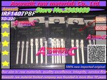 Aoweziic IRF1407 IRF1407PBF TO220 FET 130A 75V, 2016 + 100%, original, importado