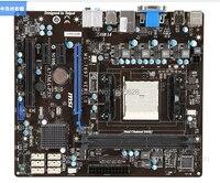 Ücretsiz kargo orijinal masaüstü anakart MSI A75MA-P35 DDR3 Soket FM1 ram 16G anakart için