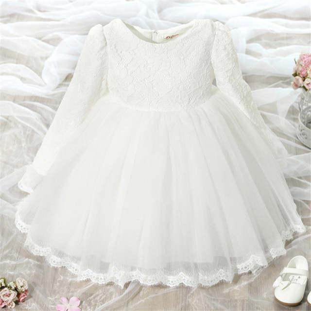 d4fcead6e Online Shop Winter Newborn Dress For Baby Girl Christening Gown 1st ...