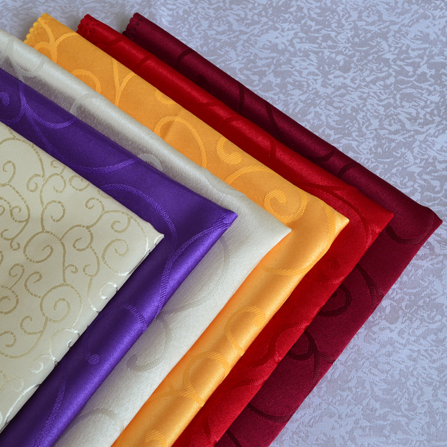 party supplies colorful polyester fabric cloth napkin wedding u0026 party napkins multiuse cloth 48