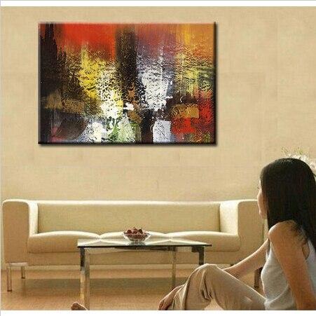 modernos cuadros abstractos sobre lienzo pintado a mano nuevo envo libre pintura al leo abstracta arte