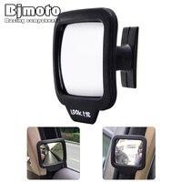 Lồi Car An Toàn Rear View Gương Xách Tay 360 Rotating An Toàn Wide Angle Blind Spot Gương Đậu Xe