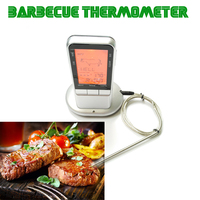 Digital LCD Display Oven Barbecue Thermometer Probe Food Thermometer Timer BBQ Meat Kitchen Cooking Tool