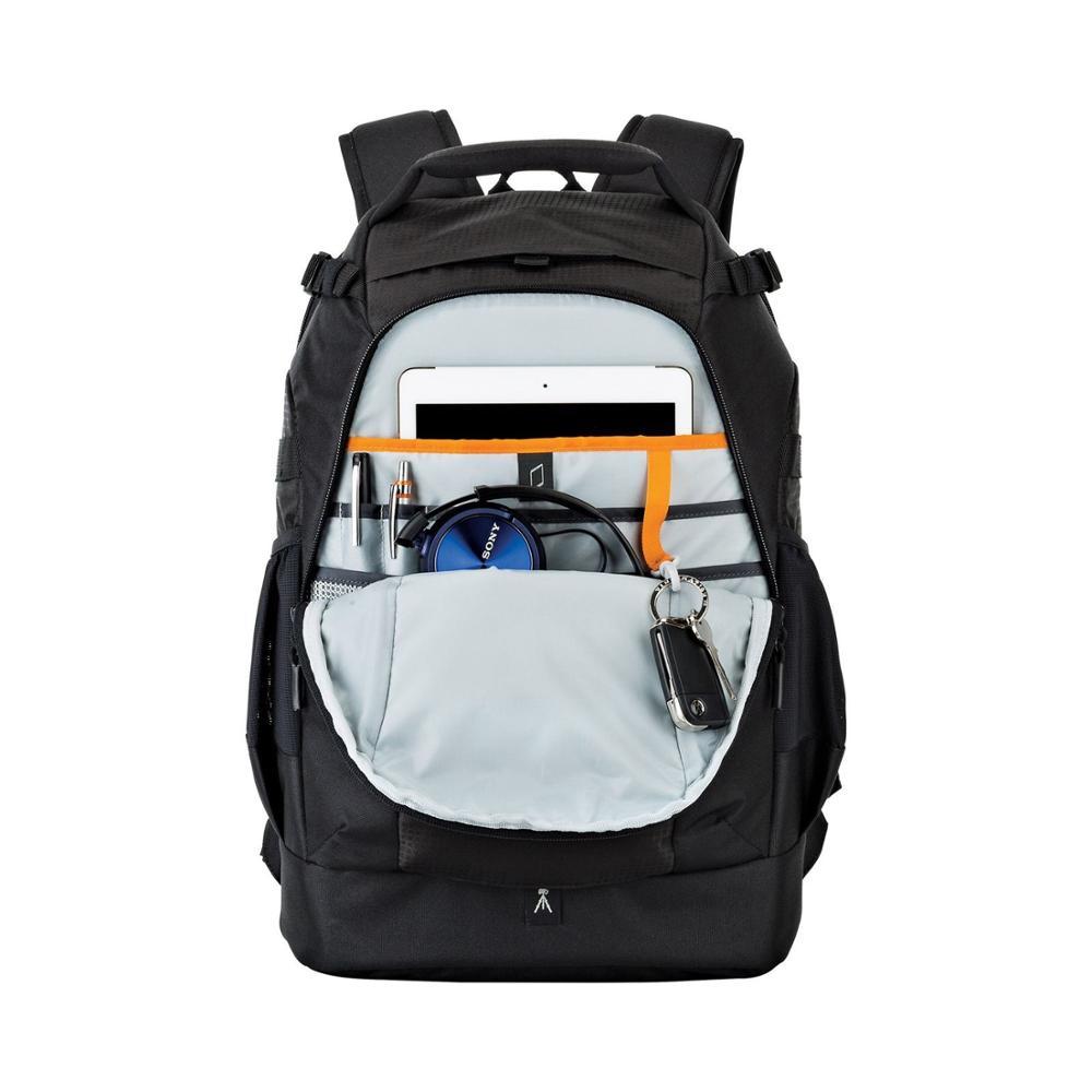 Image 4 - Fastshipping Новинка lovepro флипсайд 400 AW II цифровая фотокамера DSLR/SLR объектив/Вспышка рюкзак сумка + дождевик-in Сумки для фото-/видеокамеры from Бытовая электроника