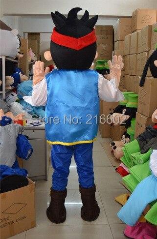 Маскарадные костюмы Джейк талисман Neverland узко Pirate фантазии взрослый размер мультфильма костюм талисмана